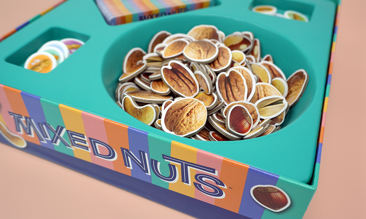 mixed nuts game box inside