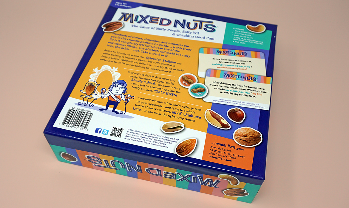 mixed nuts game box bottom