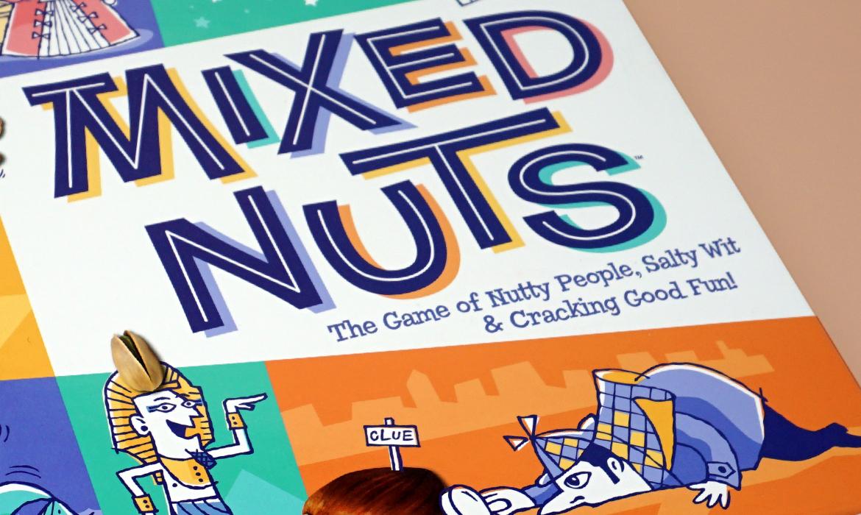 mixed nuts box detail