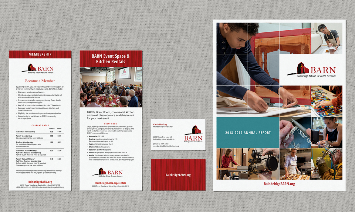 BARN business papers and annual report