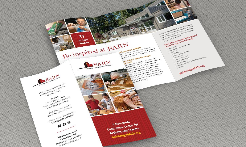 BARN tri-fold brochure