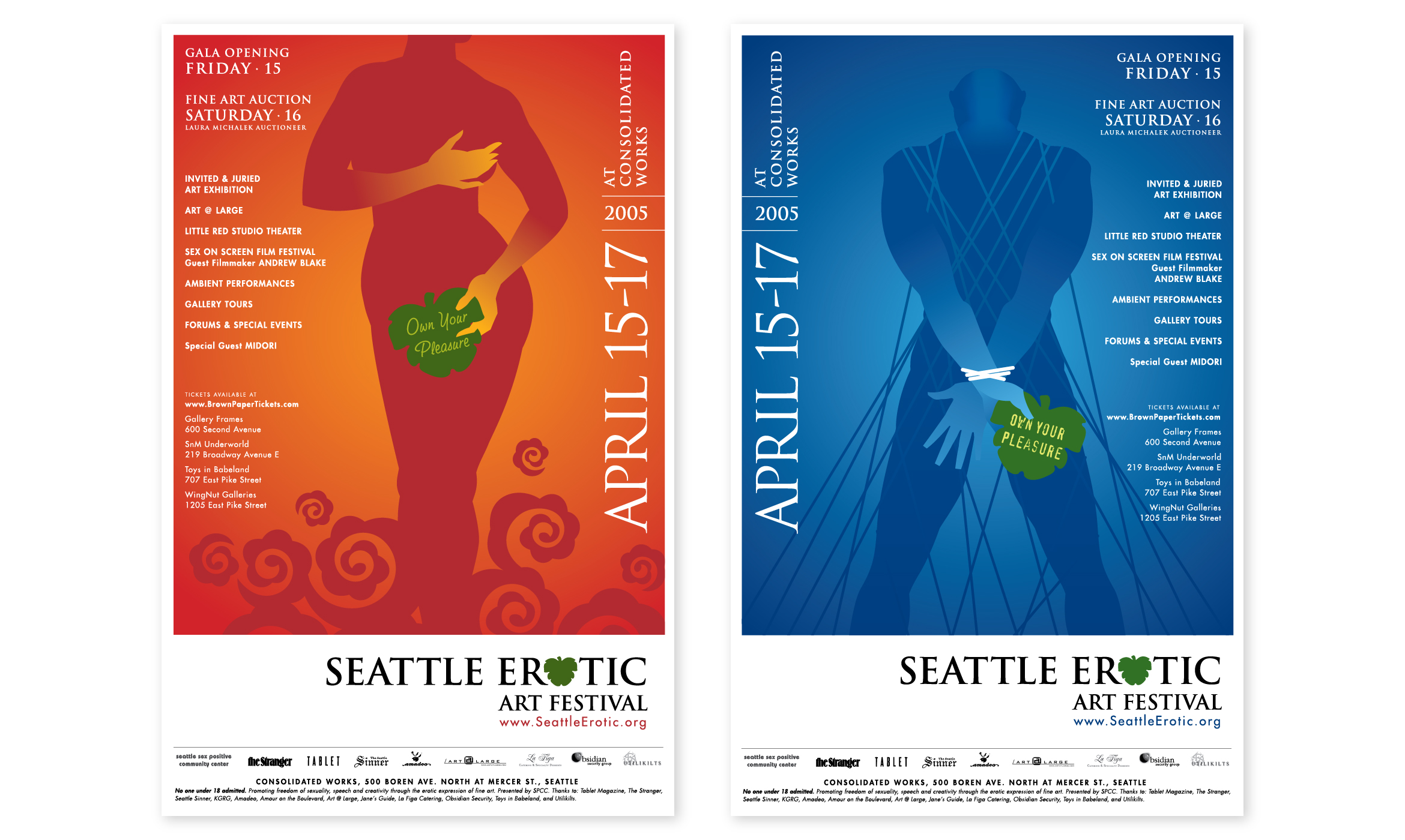 Posters and ads for SEAF