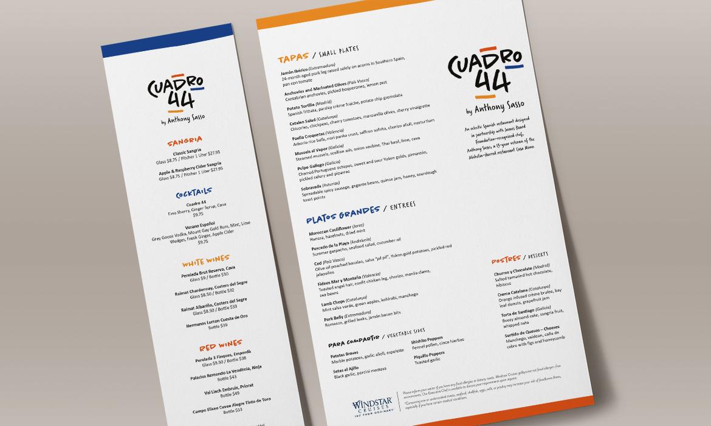 Windstar Cuadro 44 menus