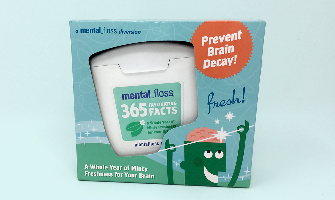 mental floss packaging