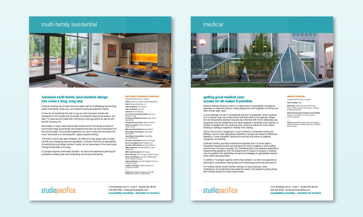 studio pacifica collateral