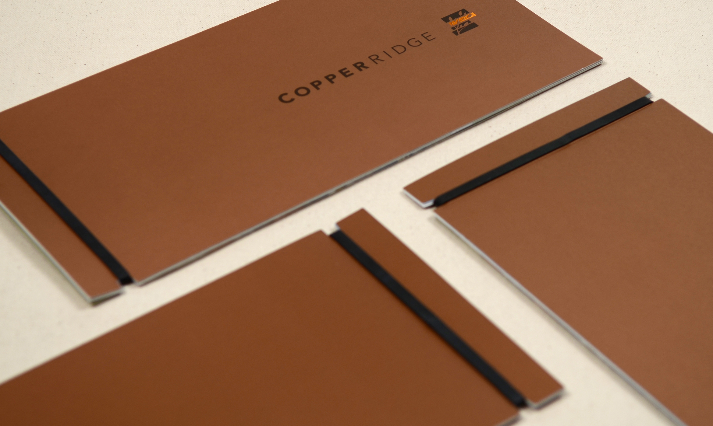 Copper Ridge brochure covers